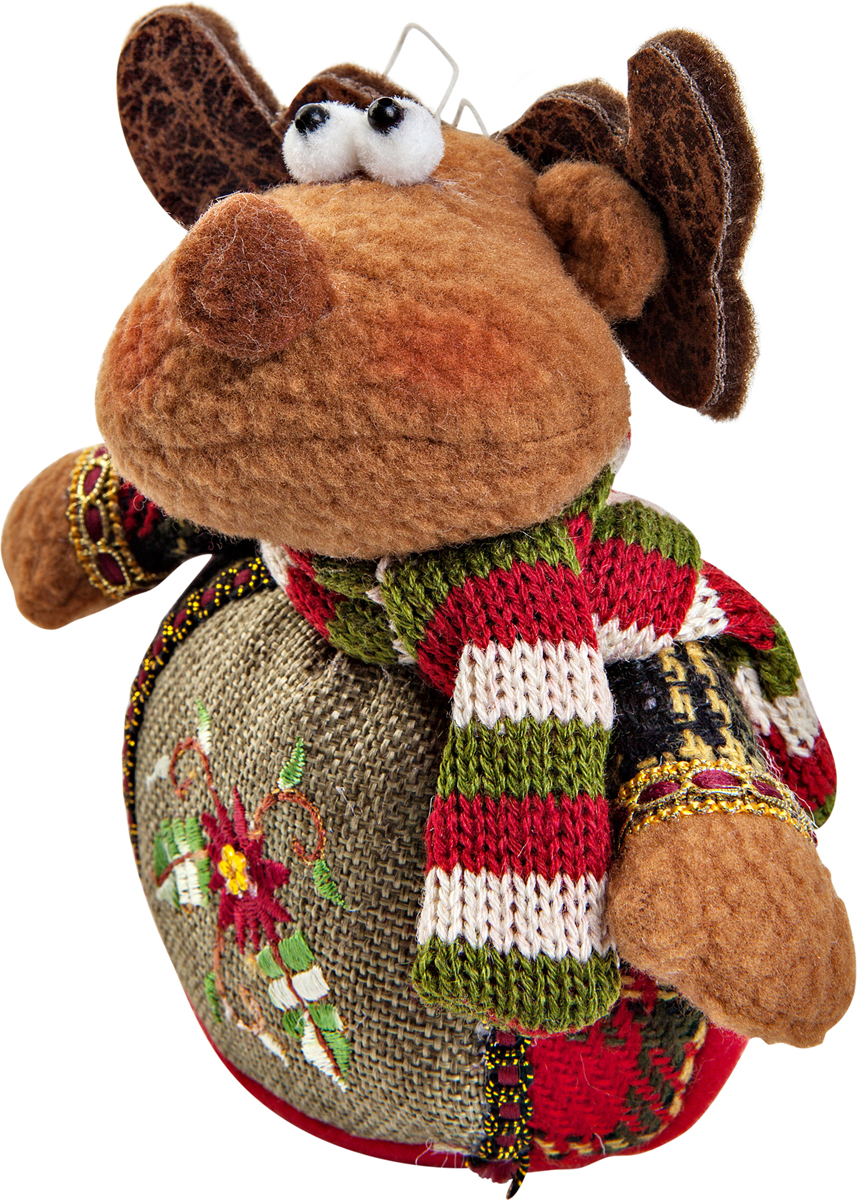 Игрушка новогодняя Mister Christmas Олень, высота 12 смCHL-508DRНовогодняя игрушка Mister Christmas Олень, изготовленная из текстиля, прекрасно подойдет для праздничного декора дома. Изделие можно разместить в любом понравившемся вам месте. Новогодняя игрушка несет в себе волшебство и красоту праздника. Создайте в своем доме атмосферу веселья и радости, украшая дом красивыми игрушками, которые будут из года в год накапливать теплоту воспоминаний.