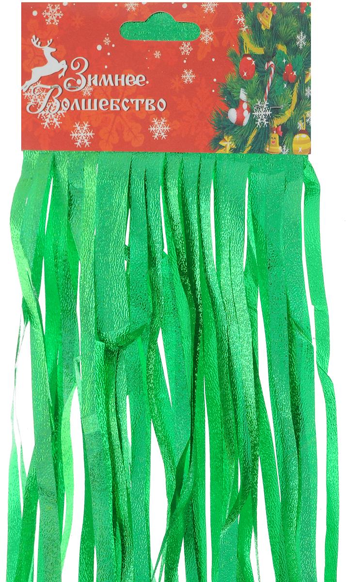 """Дождик новогодний """"Sima-land"""", изготовленный из фольги, поможет вам украсить свой дом к предстоящим праздникам. Новогодняя елка с таким украшением станет еще наряднее.   Новогодним дождиком можно украсить все, что угодно - елку, квартиру, дачу, офис - как внутри, так и снаружи. Можно сложить новогодние поздравления, буквы и цифры, дождиком можно украсить и дополнить гирлянды, можно выделить дверные колонны, оплести дверные проемы."""