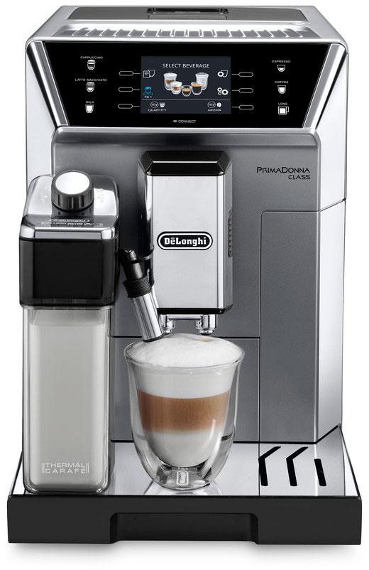 DeLonghi PrimaDonna Class ECAM 550.75.MS, Silver кофемашина