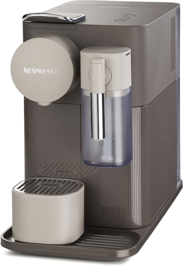DeLonghi Nespresso Lattissima One EN500.BW, Brown капсульная кофемашина
