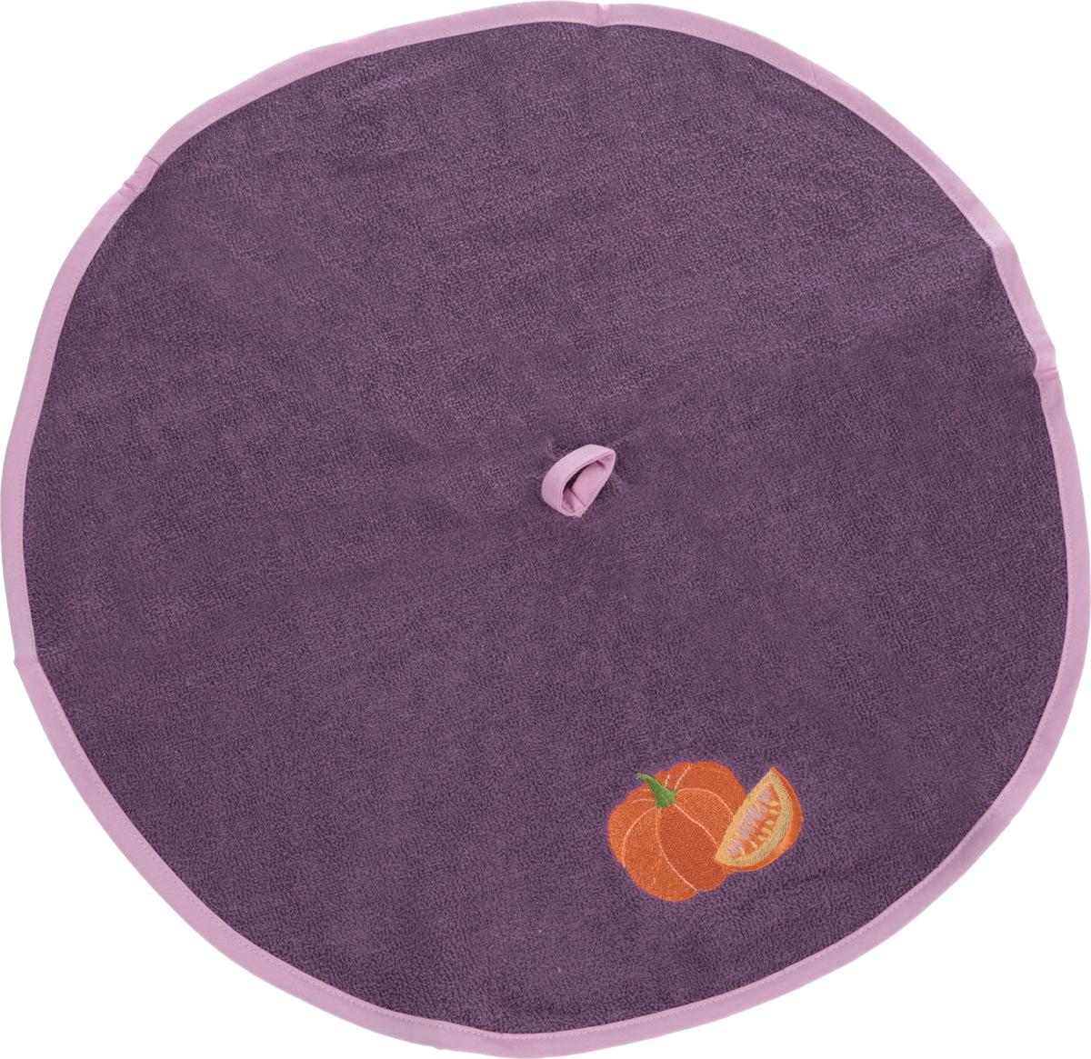 Полотенце кухонное Karna Zelina. Тыква, цвет: грязно-сиреневый, диаметр 50 см504/CHAR005_грязно-сиреневыйКруглое кухонное полотенце Karna Zelina. Тыква изготовлено из 100% хлопка, поэтому являетсяэкологически чистым. Качество материала гарантирует безопасность не только взрослым, но и самым маленьким членам семьи. Изделие мягкое и пушистое, оснащено удобной петелькой и украшено оригинальной вышивкой. Кухонное полотенце Karna сделает интерьер вашей кухни стильным и гармоничным.Диаметр полотенца: 50 см.