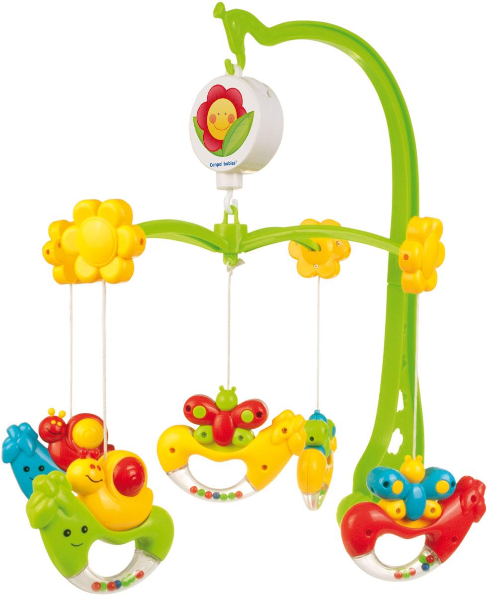 Canpol Babies Мобиль музыкальный Улитки - Игрушки для малышей