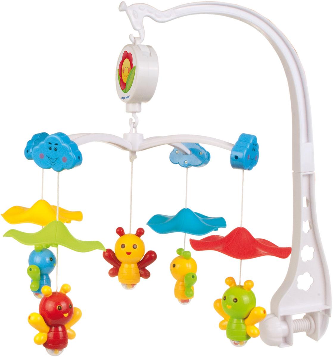 Canpol Babies Мобиль музыкальный Пчелки под зонтом - Игрушки для малышей