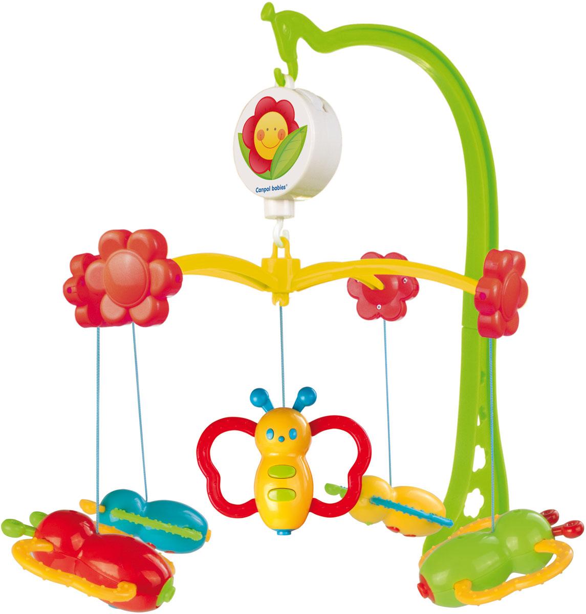 Canpol Babies Мобиль музыкальный Бабочки - Игрушки для малышей