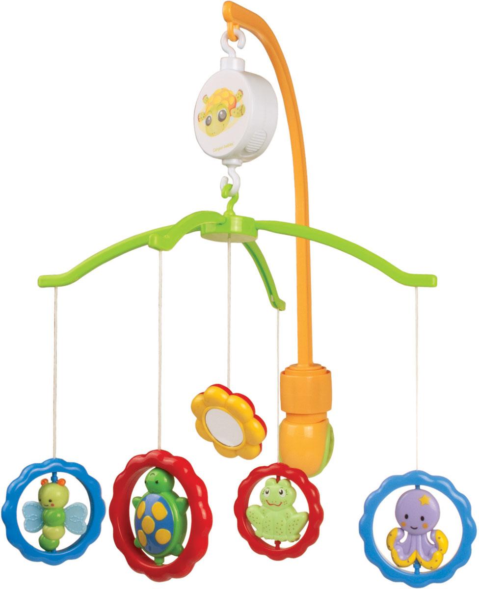 Canpol Babies Мобиль музыкальный Животные с зеркалами - Игрушки для малышей