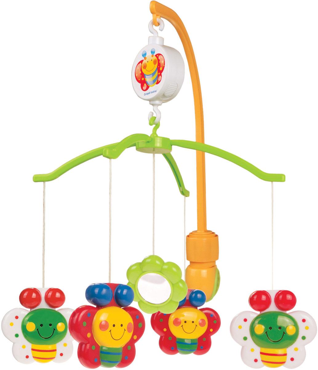 Canpol Babies Мобиль музыкальный Бабочки Happy Garden canpol babies мобиль canpol babies музыкальный бабочки