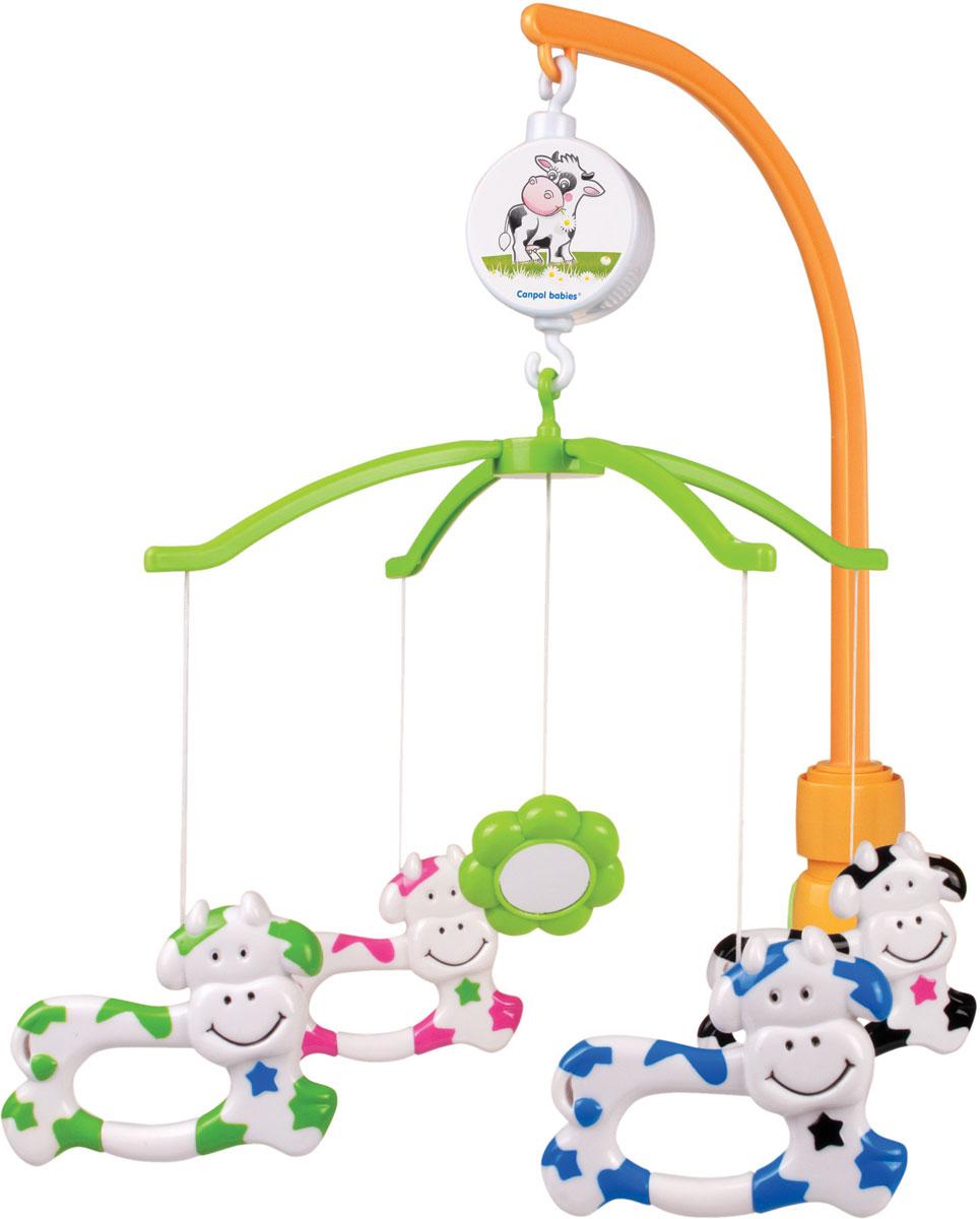Canpol Babies Мобиль музыкальный Little Cow