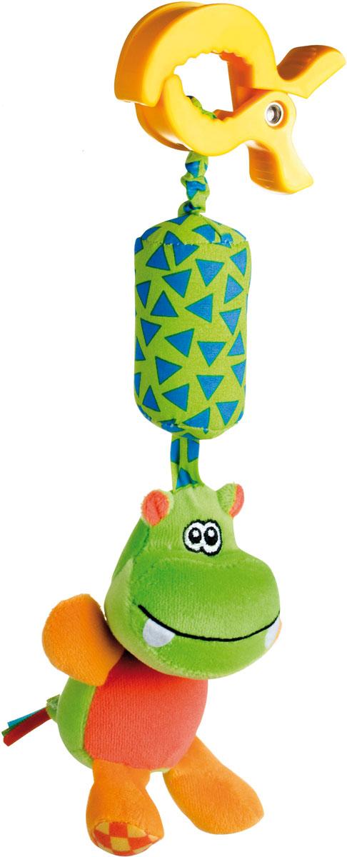 Canpol Babies Игрушка подвесная с погремушкой Бегемот canpol babies коврик развивающий цветной океан