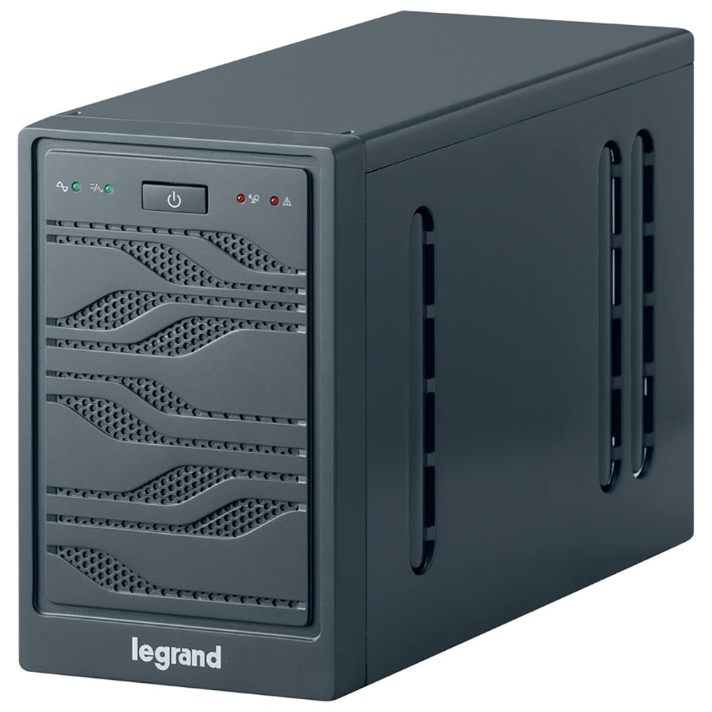 Legrand Niky 1000 ВА источник бесперебойного питания310004Автоматическая стабилизация напряжения. Усовершенствованное управление зарядом батареи. Встроенная функция самодиагностики, функция холодного старта, микропроцессорное управление интерфейсы RS232 или USB для управления ИБП защита телефонных/информационных линий, синусоидальное напряжение на выходе при работе АКБ защита от импульсных перенапряжений.