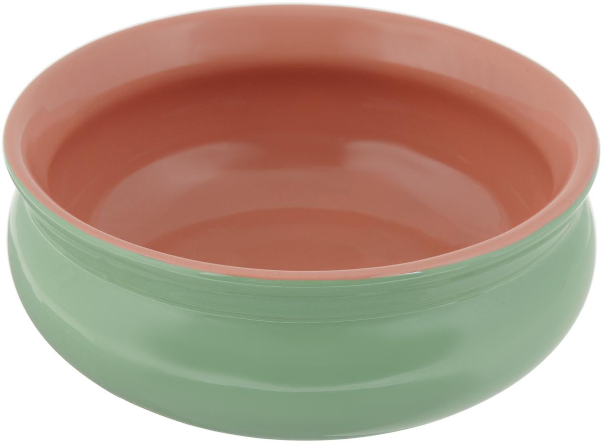 Тарелка глубокая Борисовская керамика Скифская, цвет: светло-зеленый, 500 млРАД14458194_светло-зеленый, розовыйГлубокая тарелка Борисовская керамика Скифская выполнена из керамики. Изделие сочетает в себе изысканный дизайн с максимальной функциональностью. Она прекрасно впишется в интерьер вашей кухни и станет достойным дополнением к кухонному инвентарю.Такая тарелка подчеркнет прекрасный вкус хозяйки и станет отличным подарком.Можно использовать в духовке и микроволновой печи.Диаметр тарелки (по верхнему краю): 14 см. Объем: 500 мл.