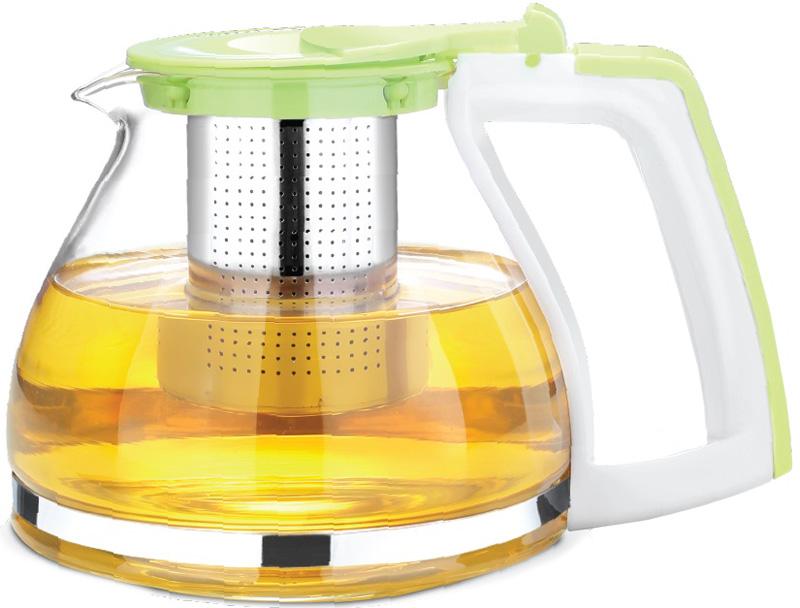 Чайник заварочный Teco, 900 мл. TC -301TC -301Чайник для заваривания 900 мл из стекла и пластика c ситом и крышкой