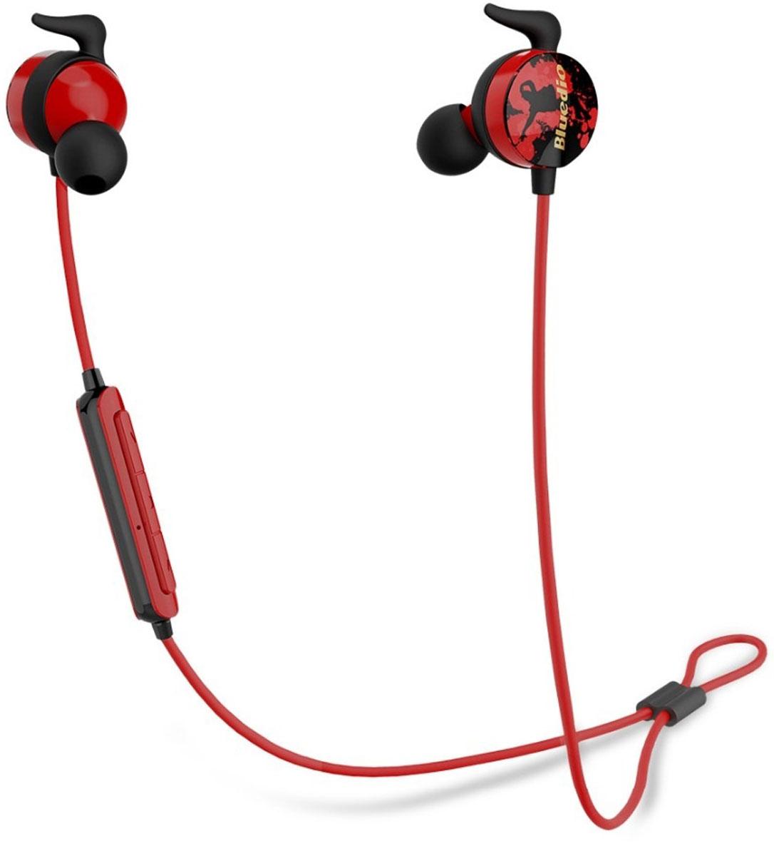 Bluedio Ai, Red Black беспроводные наушники