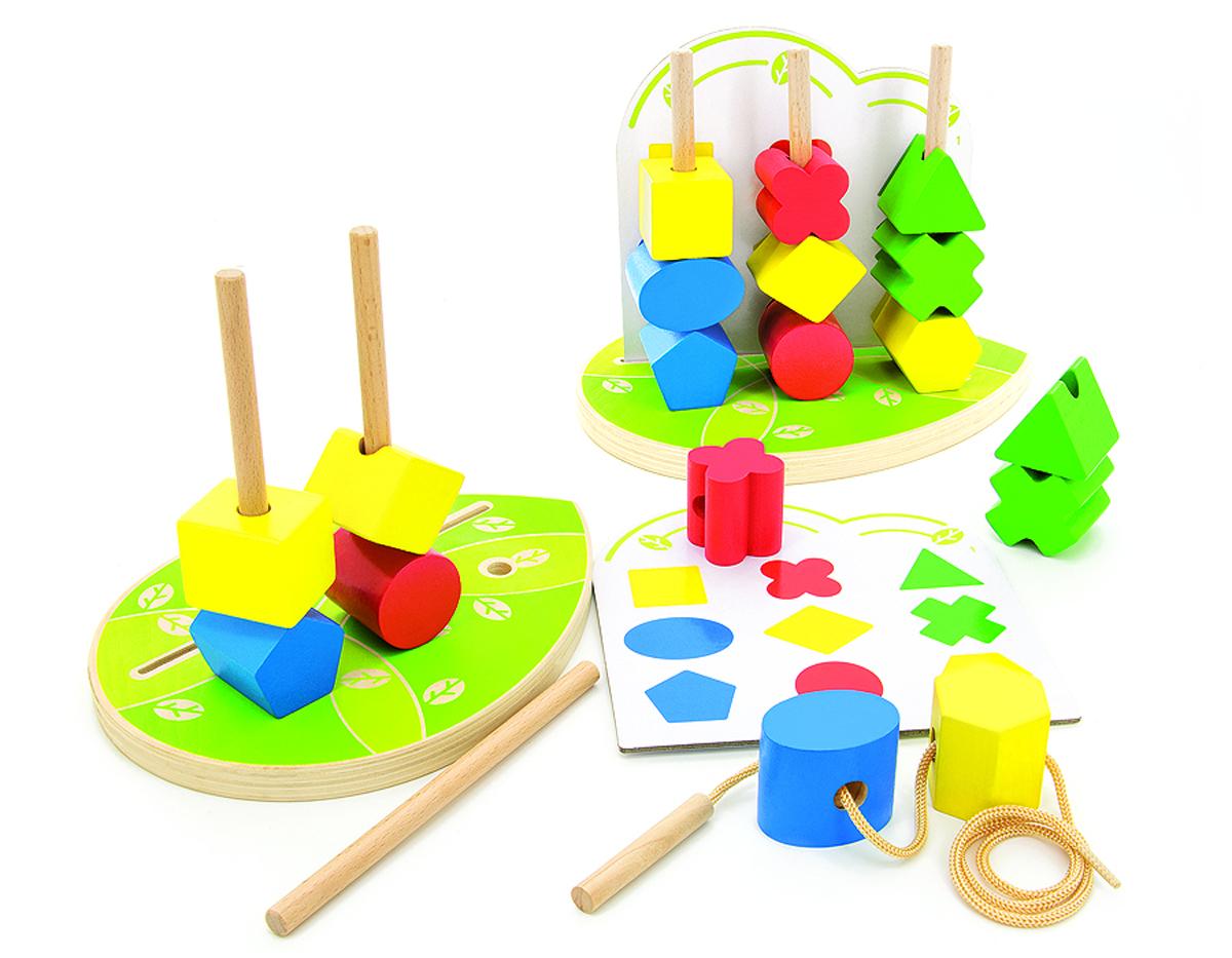 Игрушки из дерева Обучающая игра Сортер Геометрические фигуры геометрические фигуры из гипса в донецке
