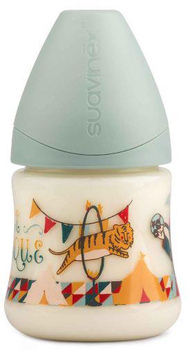 Suavinex Бутылочка от 0 месяцев с силиконовой соской цвет зеленый 150 мл suavinex бутылочка от 0 месяцев с силиконовой соской цвет розовый 270 мл 3800055