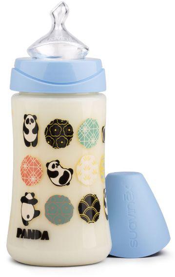 Suavinex Бутылочка от 0 месяцев с силиконовой соской цвет голубой 270 мл suavinex бутылочка от 0 месяцев с силиконовой соской цвет розовый 270 мл 3800055