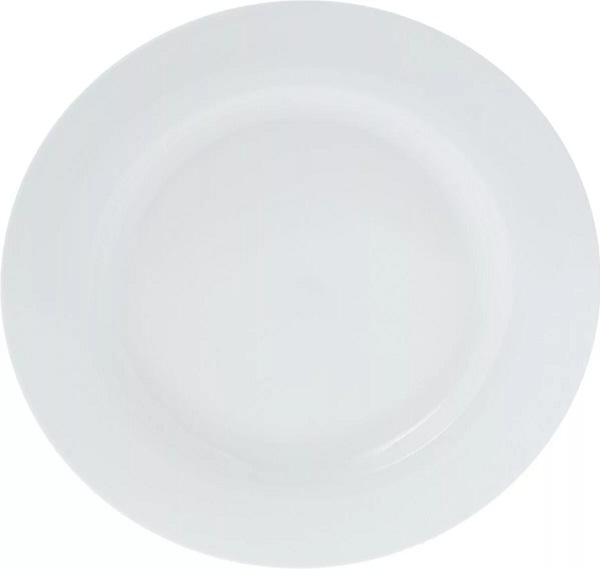 Набор обеденных тарелок Wilmax, диаметр 25,5 см, 6 штWL-880101-JV / 6CЭтот изящный набор фарфоровой посуды от Wilmax порадует вас элегантностью дизайна, классическими формами и практичностью изделий. Утолщенный край придает изделиям Wilmax дополнительную прочность и устойчивость к сколам. История фарфора уходит вглубь веков, за многие годы изменилась мода, изменились вкусы, но популярность фарфора неизменна. Несмотря на кажущуюся хрупкость, фарфор можно назвать одной из вечных ценностей, привносящих красоту и изысканность в нашу жизнь. Тонкий, легкий фарфор – украшение любого стола, изюминка любого интерьера.