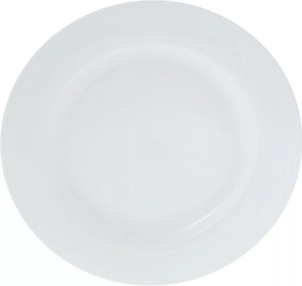 Набор обеденных тарелок Wilmax, диаметр 25,5 см, 6 шт тарелка wilmax 20см дес фарфор