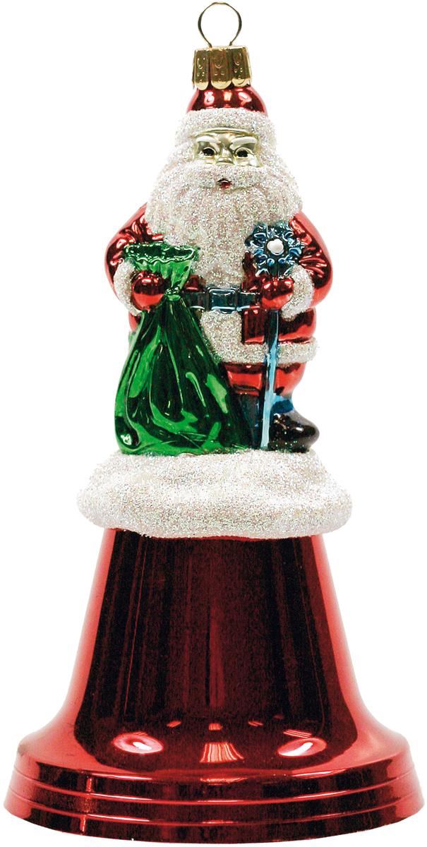 Украшение новогоднее Mister Christmas Дед Мороз на колоколе, цвет: красный, высота 15 смBD 80-BELL-200Новогодние украшения всегда несут в себе волшебство и красоту праздника. Создайте в своем доме атмосферу тепла, веселья и радости, украшая его всей семьей.
