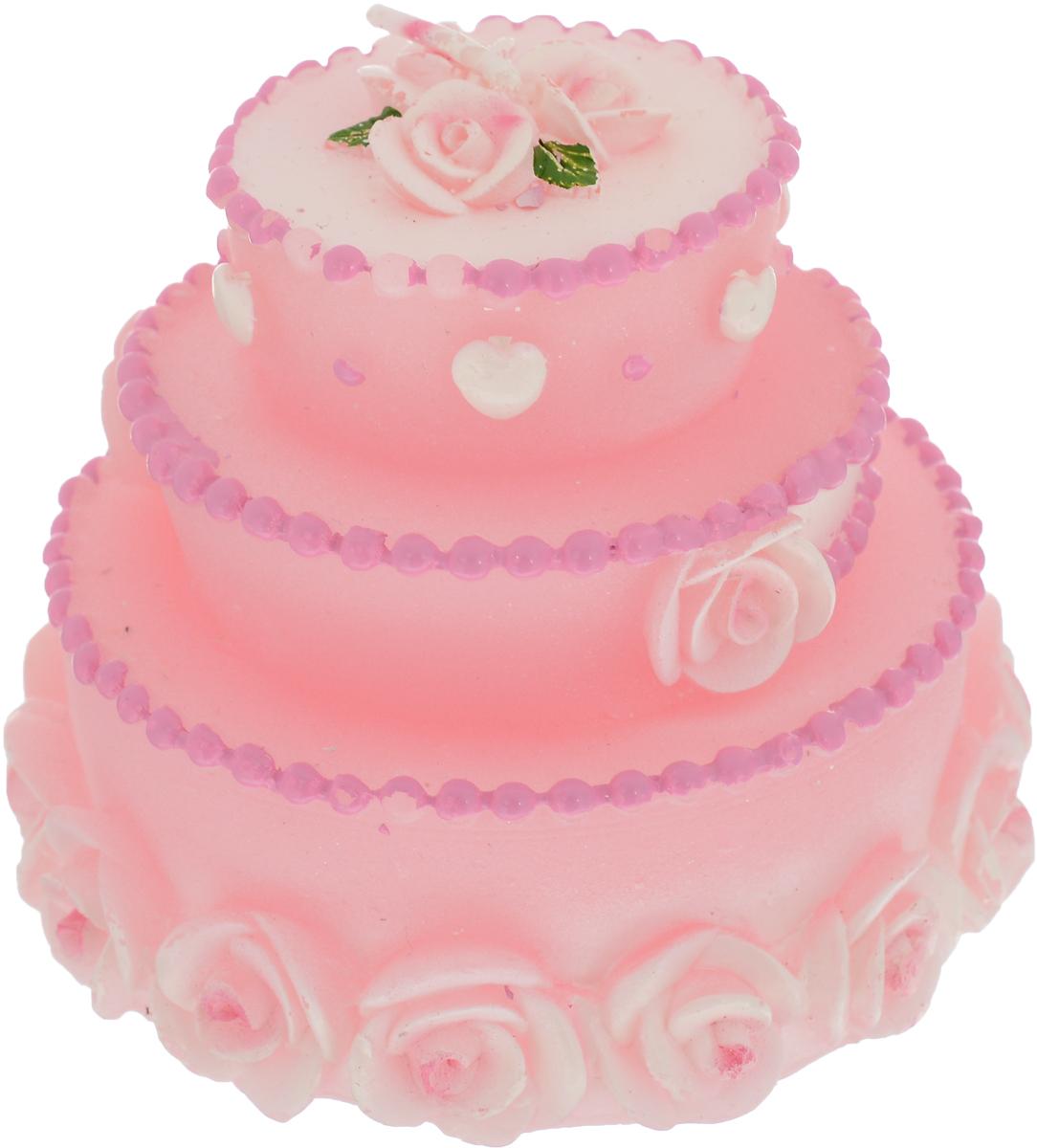 Декоративная свеча выполнена в виде торта, украшенного цветами и сердечками. Новогодние украшения всегда несут в себе волшебство и красоту праздника. Создайте в своем доме атмосферу тепла, веселья и радости, украшая его всей семьей.