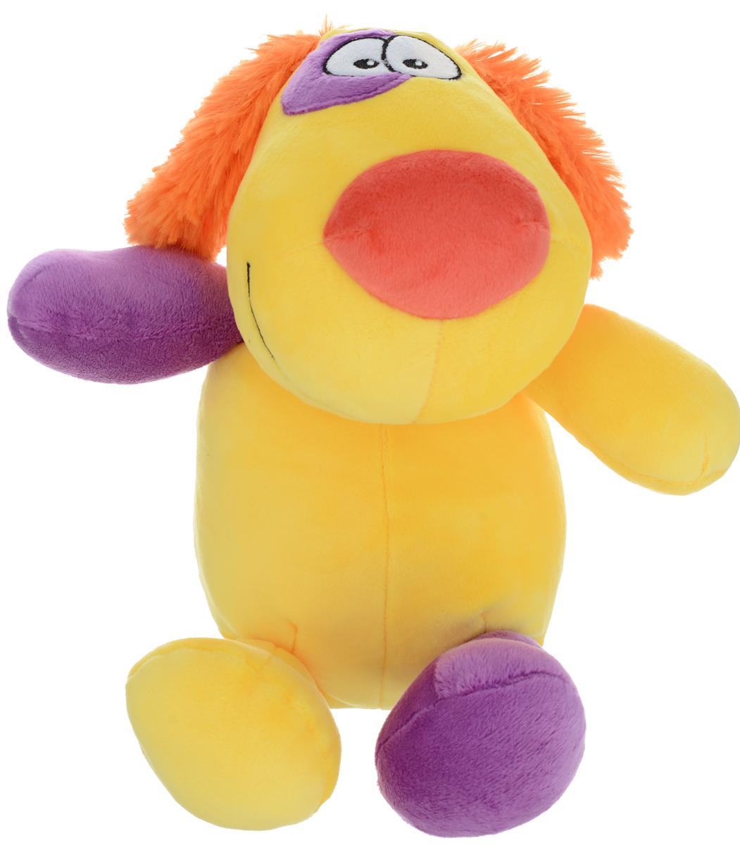 СмолТойс Мягкая игрушка Пес Егорка 35 см 2333/ЖЛ/35 смолтойс мягкая игрушка зайка даша цвет салатовый 41 см