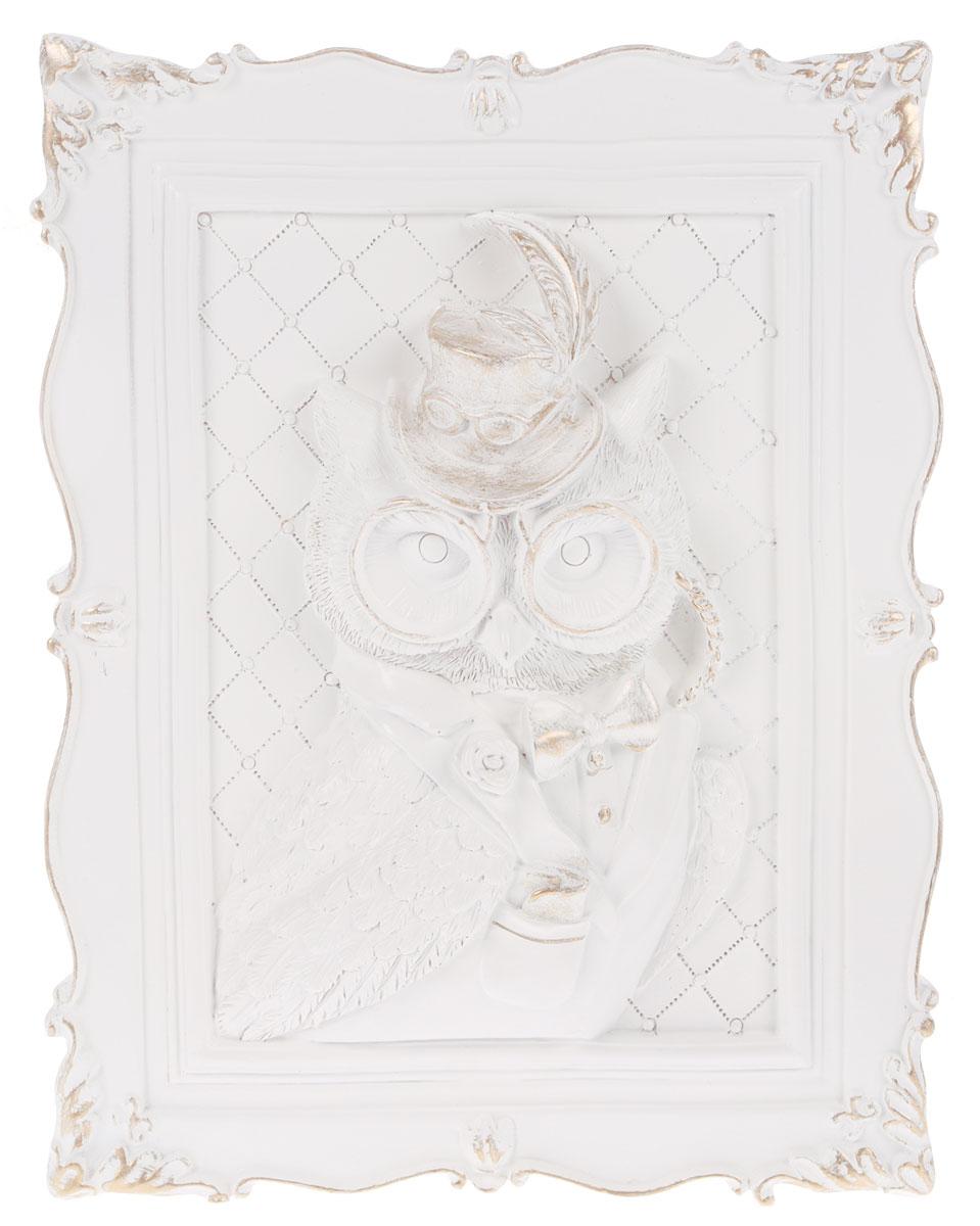 Декоративное украшение Magic Home Сова, 23 х 19 х 5 см44369_соваДекоративное украшение Сова, изготовленное из полирезины, отлично подойдет для декорирования интерьера. Такое украшение не только подчеркнет ваш изысканный вкус, но и станет прекрасным подарком для родных и близких.