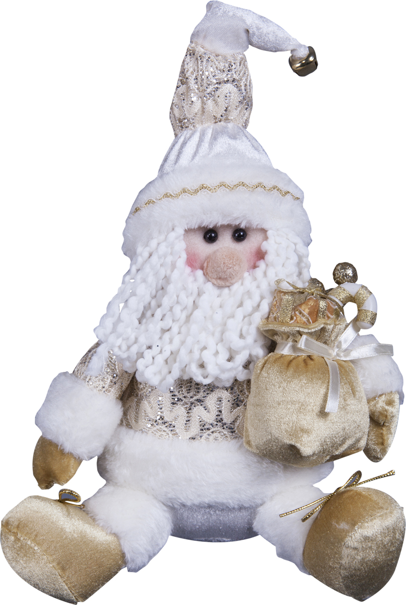 Игрушка новогодняя Mister Christmas Дед Мороз, высота 12,5 см мягкая игрушка mister christmas дед мороз