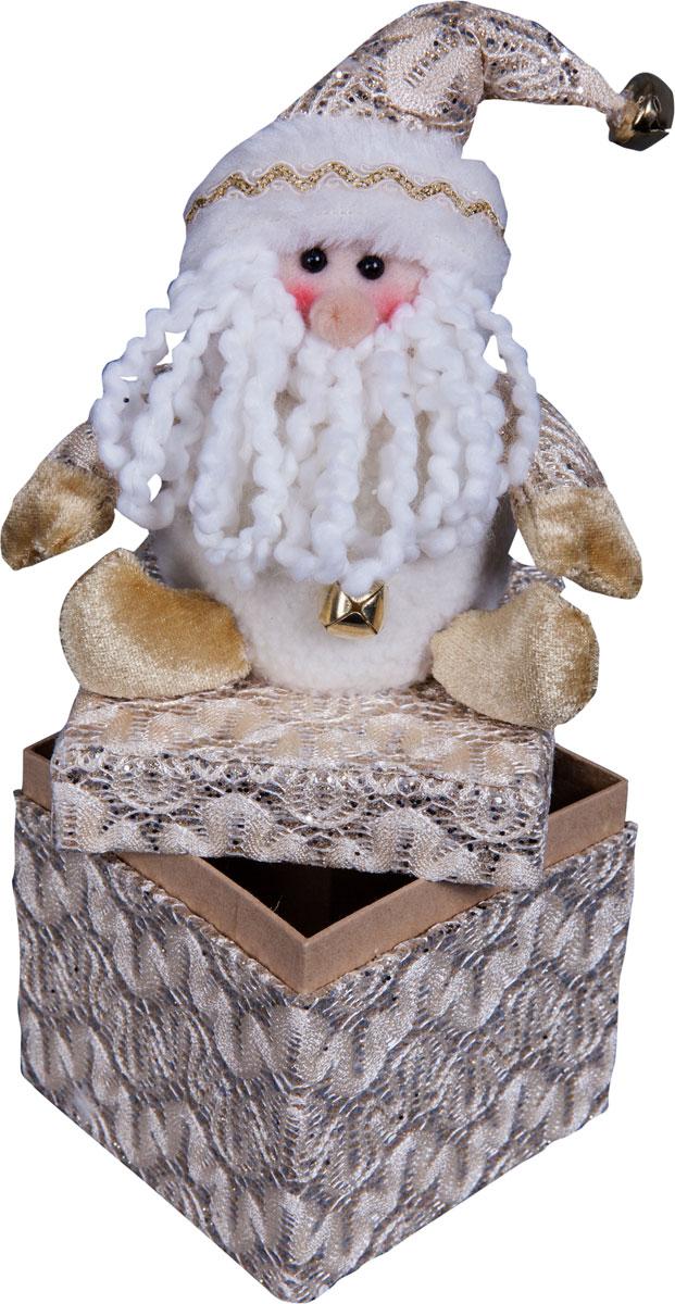 Игрушка новогодняя Mister Christmas Дед Мороз, высота 24 смDCM-009Игрушка новогодняя Mister Christmas Дед Мороз - прекрасное украшение для вашего дома.Изготовлена из комбинированных текстильных материалов, она ярко смотрится и приятна наощупь. Такая игрушка одинаково хорошо смотрится на елке, под елкой возле подарков, наполочке, столе или другом видном месте вашего дома или офиса. Это прекрасный подарокколлегам, друзьям, близким, а также детям. Сувенир изготовлен из экологически чистыхматериалов и выпускается ограниченной серией. А нарядная подарочная упаковка позволит вамне беспокоиться о дополнительном оформлении подарка.