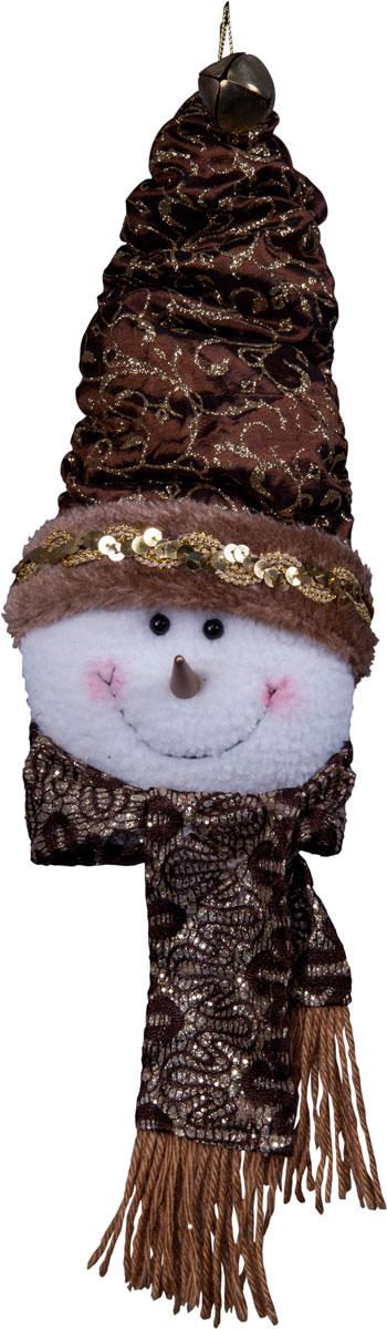 Игрушка новогодняя Mister Christmas Снеговик, высота 25 см