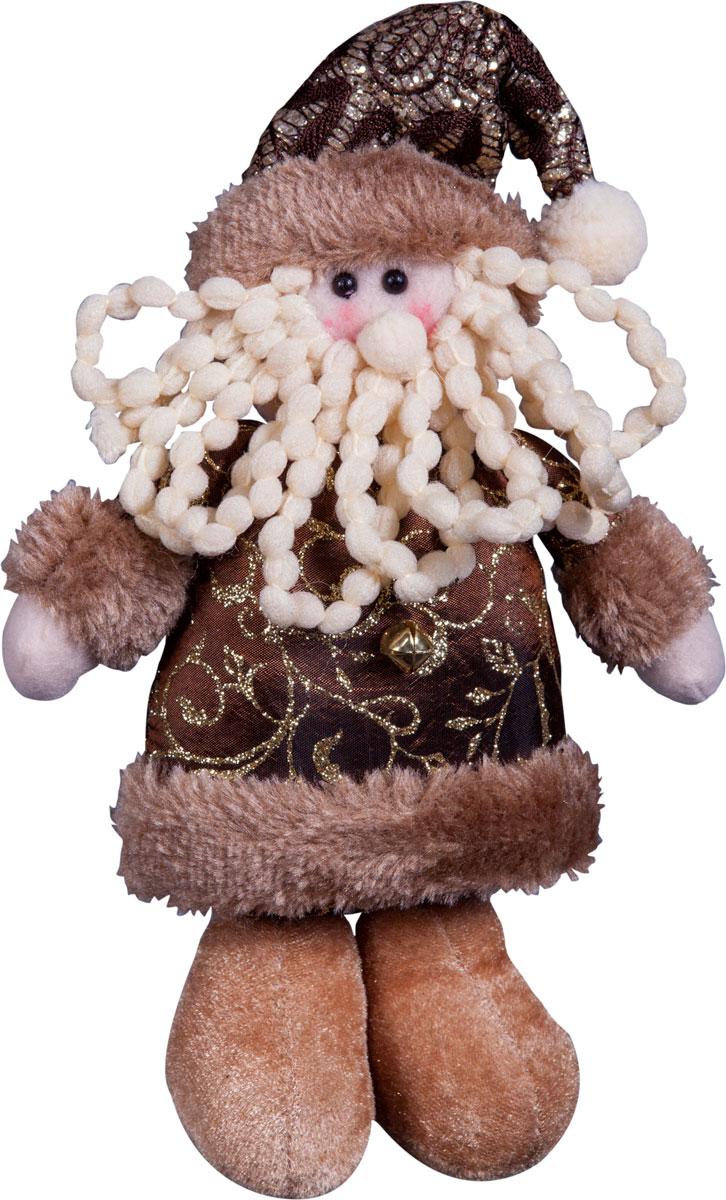Игрушка новогодняя Mister Christmas Дед Мороз, высота 20 см. DCM-024DCM-024Игрушка новогодняя Mister Christmas Дед Мороз - прекрасное украшение для вашего дома. Изготовлена из комбинированных текстильных материалов, она ярко смотрится и приятна на ощупь. Такая игрушка одинаково хорошо смотрится на елке, под елкой возле подарков, на полочке, столе или другом видном месте вашего дома или офиса. Это прекрасный подарок коллегам, друзьям, близким, а также детям. Сувенир изготовлен из экологически чистых материалов и выпускается ограниченной серией. А нарядная подарочная упаковка позволит вам не беспокоиться о дополнительном оформлении подарка.