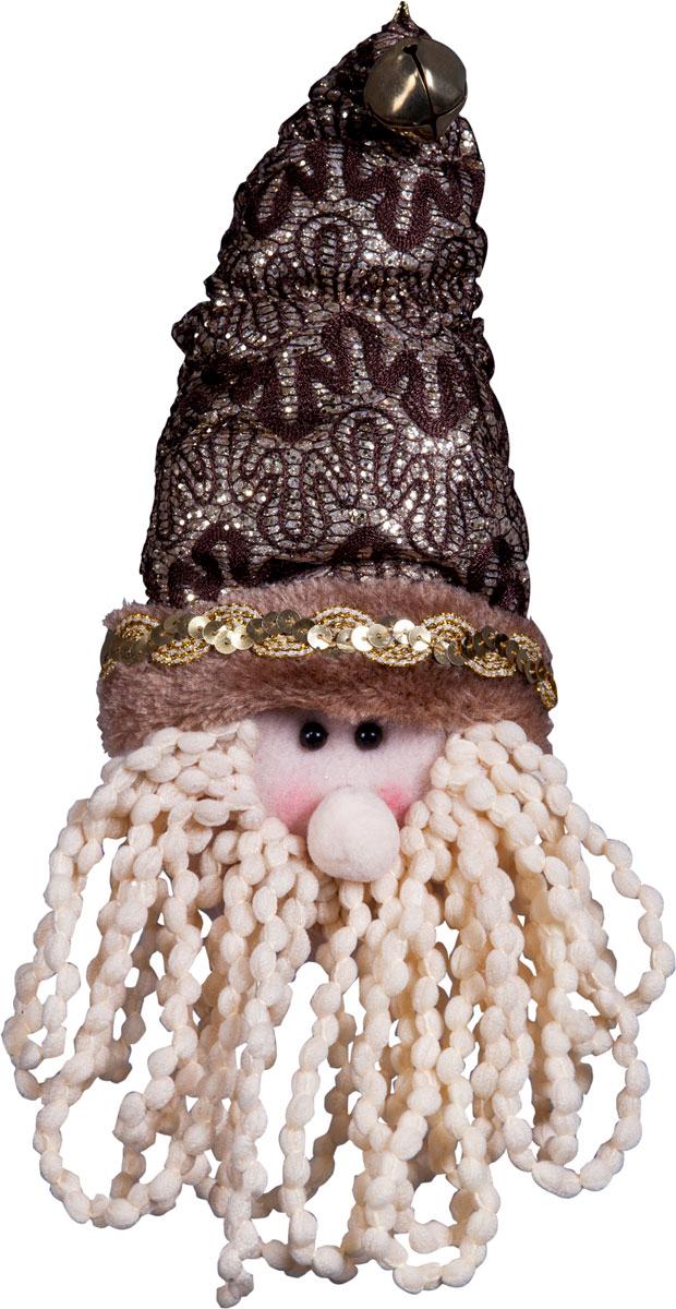 Игрушка новогодняя Mister Christmas Дед Мороз, высота 25 смDCM-026Игрушка новогодняя Mister Christmas Дед Мороз - прекрасное украшение для вашего дома. Изготовлена из комбинированных текстильных материалов, она ярко смотрится и приятна на ощупь. Такая игрушка одинаково хорошо смотрится на елке, под елкой возле подарков, на полочке, столе или другом видном месте вашего дома или офиса. Это прекрасный подарок коллегам, друзьям, близким, а также детям. Сувенир изготовлен из экологически чистых материалов.