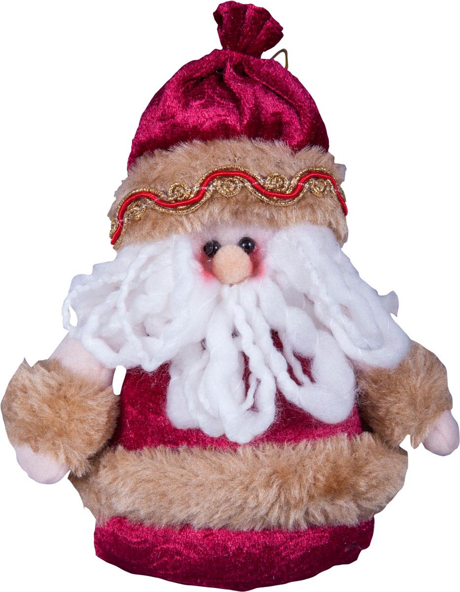 Игрушка новогодняя Mister Christmas Дед Мороз, высота 20 смDCM-029Игрушка новогодняя Mister Christmas Дед Мороз - прекрасное украшение для вашего дома. Изготовлена из комбинированных текстильных материалов, она ярко смотрится и приятна на ощупь. Такая игрушка одинаково хорошо смотрится на елке, под елкой возле подарков, на полочке, столе или другом видном месте вашего дома или офиса. Это прекрасный подарок коллегам, друзьям, близким, а также детям. Сувенир изготовлен из экологически чистых материалов и выпускается ограниченной серией. А нарядная подарочная упаковка позволит вам не беспокоиться о дополнительном оформлении подарка.
