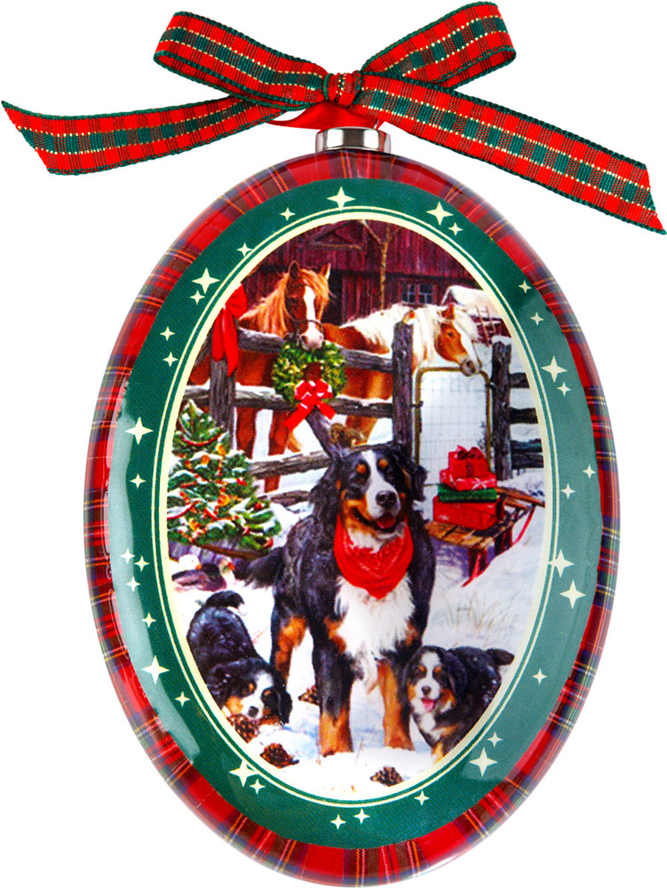 Украшение новогоднее подвесное Mister Christmas Бернский зенненхунд, высота 11 смPM-DISK-9Подвесное украшение Mister Christmas выполнено в виде диска папье-маше с изображением символа года 2018, изготовлено вручную из бумаги и покрыто несколькими слоями лака. Такой диск очень легкий, но в то же время удивительно прочный. На создание одной такой игрушки уходит несколько дней. И в результате получается настоящее произведение искусства!Изделие оснащено ленточкой для подвешивания.Такое украшение станет превосходным подарком к Новому году, а также дополнит коллекцию оригинальных новогодних елочных игрушек.