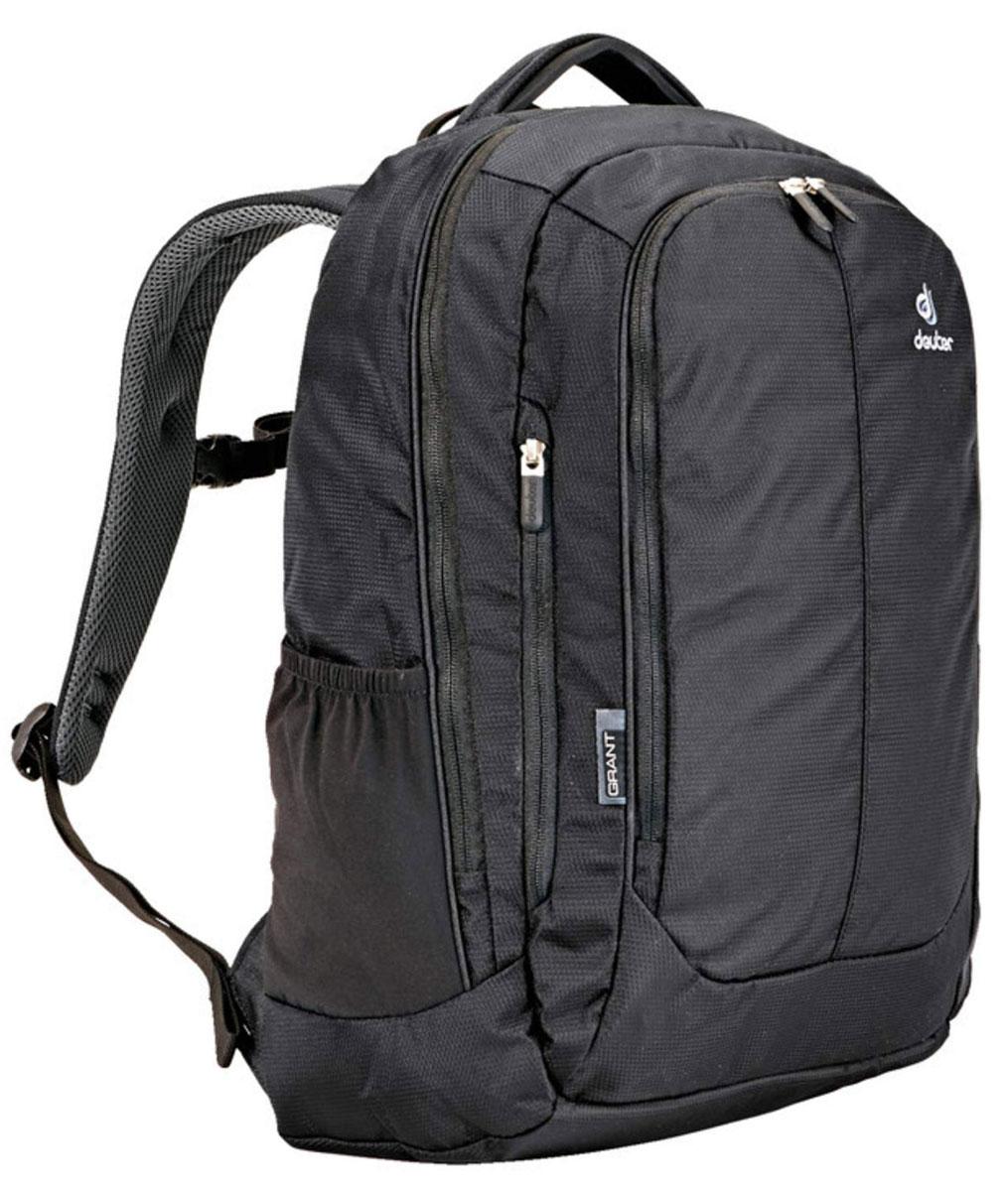 Рюкзак туристический Deuter Grant, цвет: черный, 24 л городской рюкзак deuter giga с отделением для ноутбука серый 28 л 80414 7712