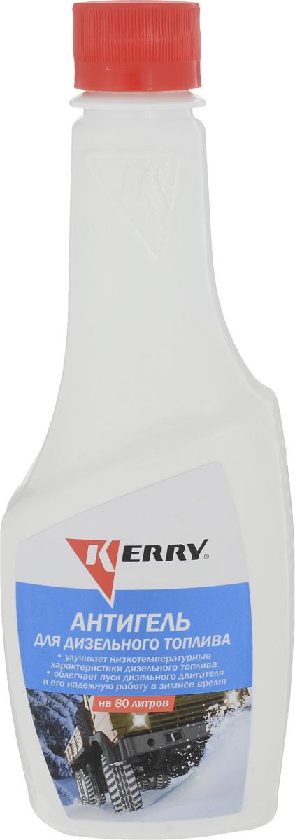 Антигель для дизельного топлива KERRY, на 80 л, 355 мл. KR-355