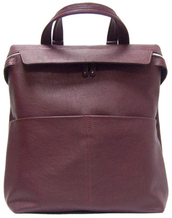 Рюкзак женский Cross Case, цвет: бордовый. MB-3048 экономичность и энергоемкость городского транспорта