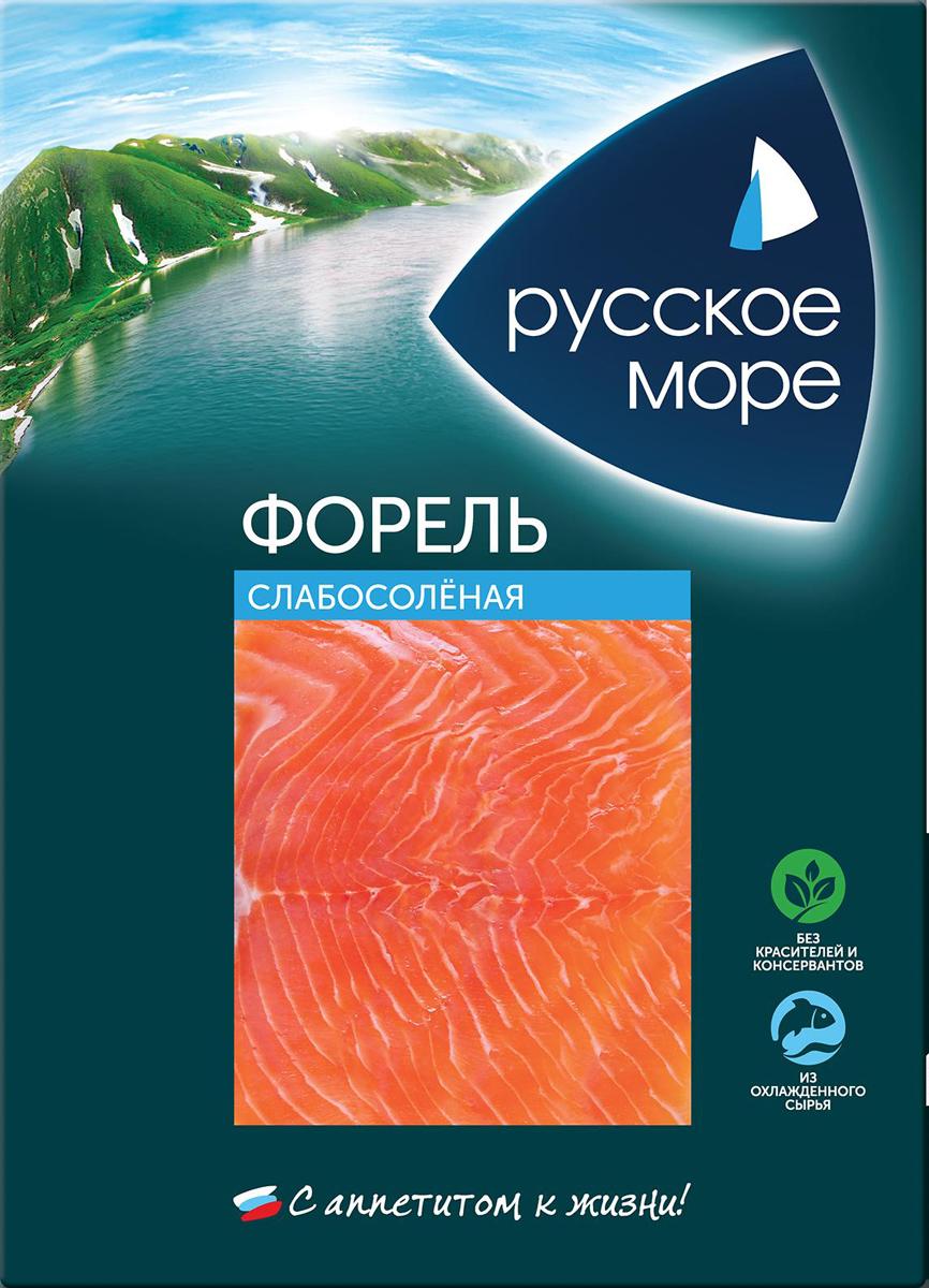 Русское Море Форель слабосоленая, ломтики, 120 г