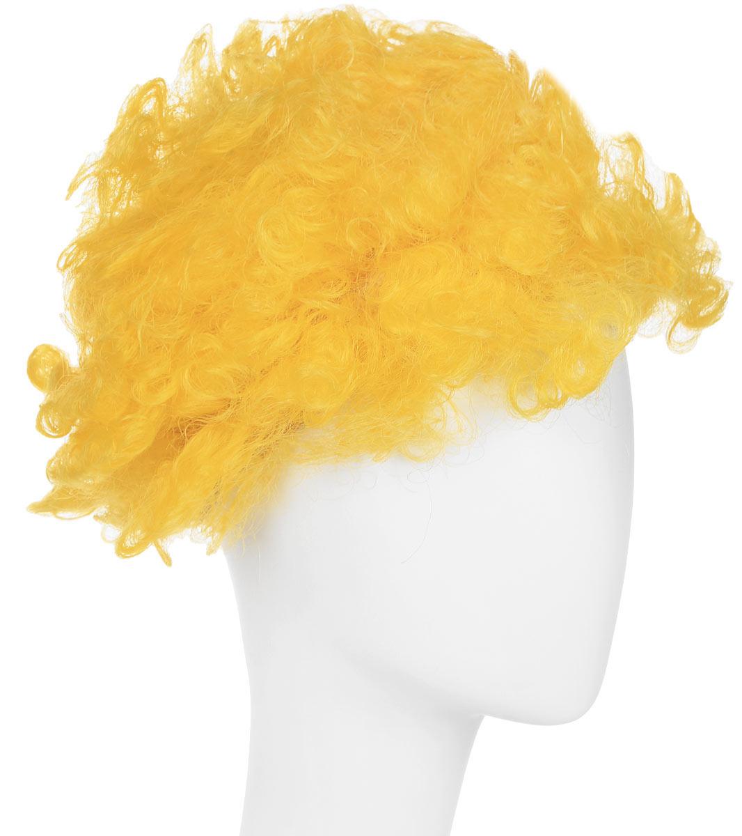 Rio Парик карнавальный цвет желтый 5061