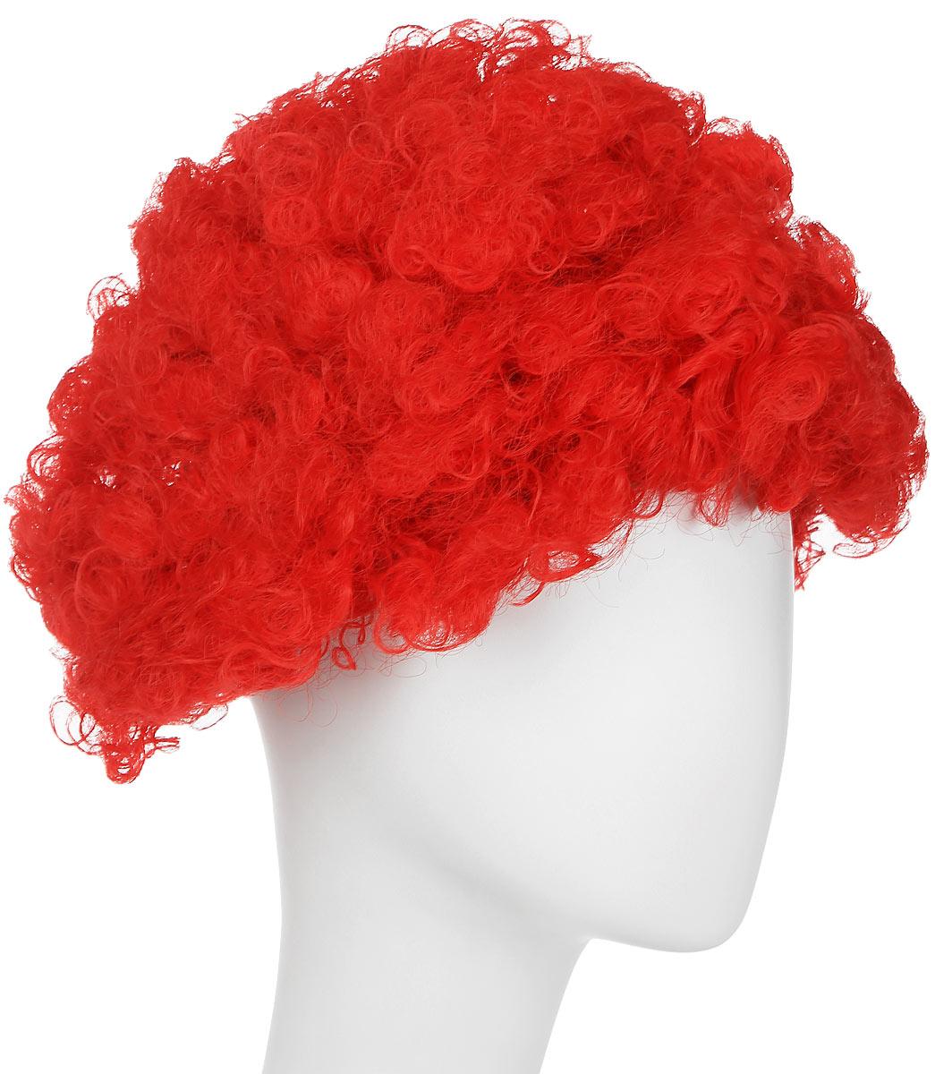Rio Парик карнавальный цвет красный 5060