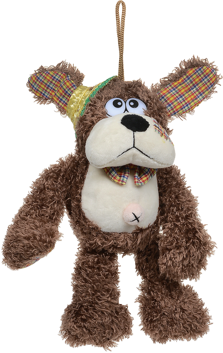 Lapa House Мягкая игрушка Собачка цвет темно-коричневый 16 см beanzees мягкая игрушка собачка dee dee 5 см