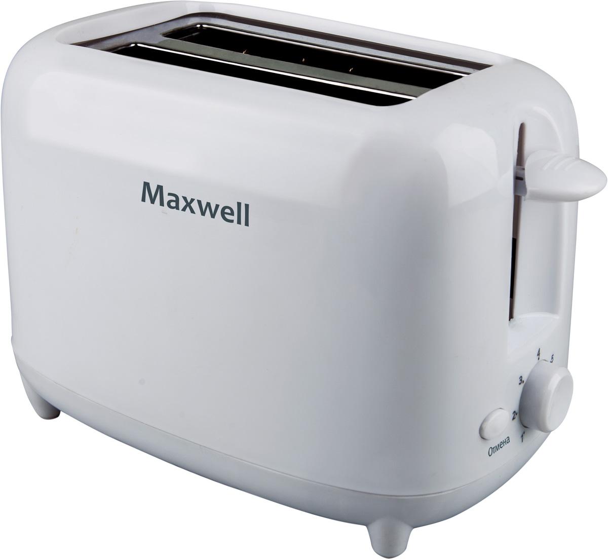 Maxwell MW-1505(W) тостер тостер maxwell mw 1504 w 750вт белый