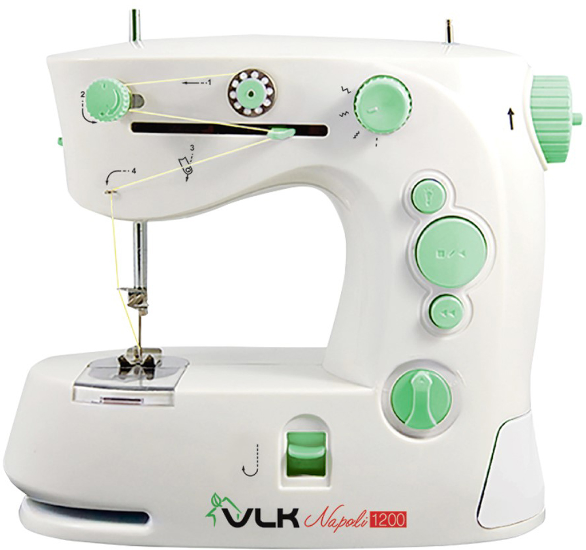 VLK Napoli 1200 швейная машина электромеханическая швейная машина vlk napoli 2100