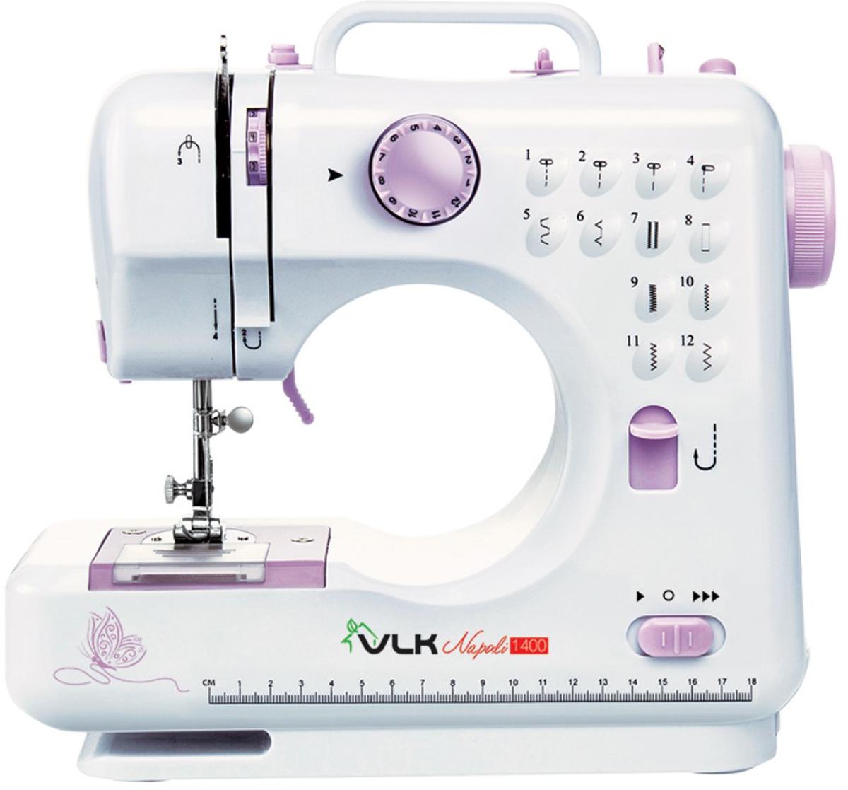 VLK Napoli 1400 швейная машина швейная машина vlk napoli 2800 белый