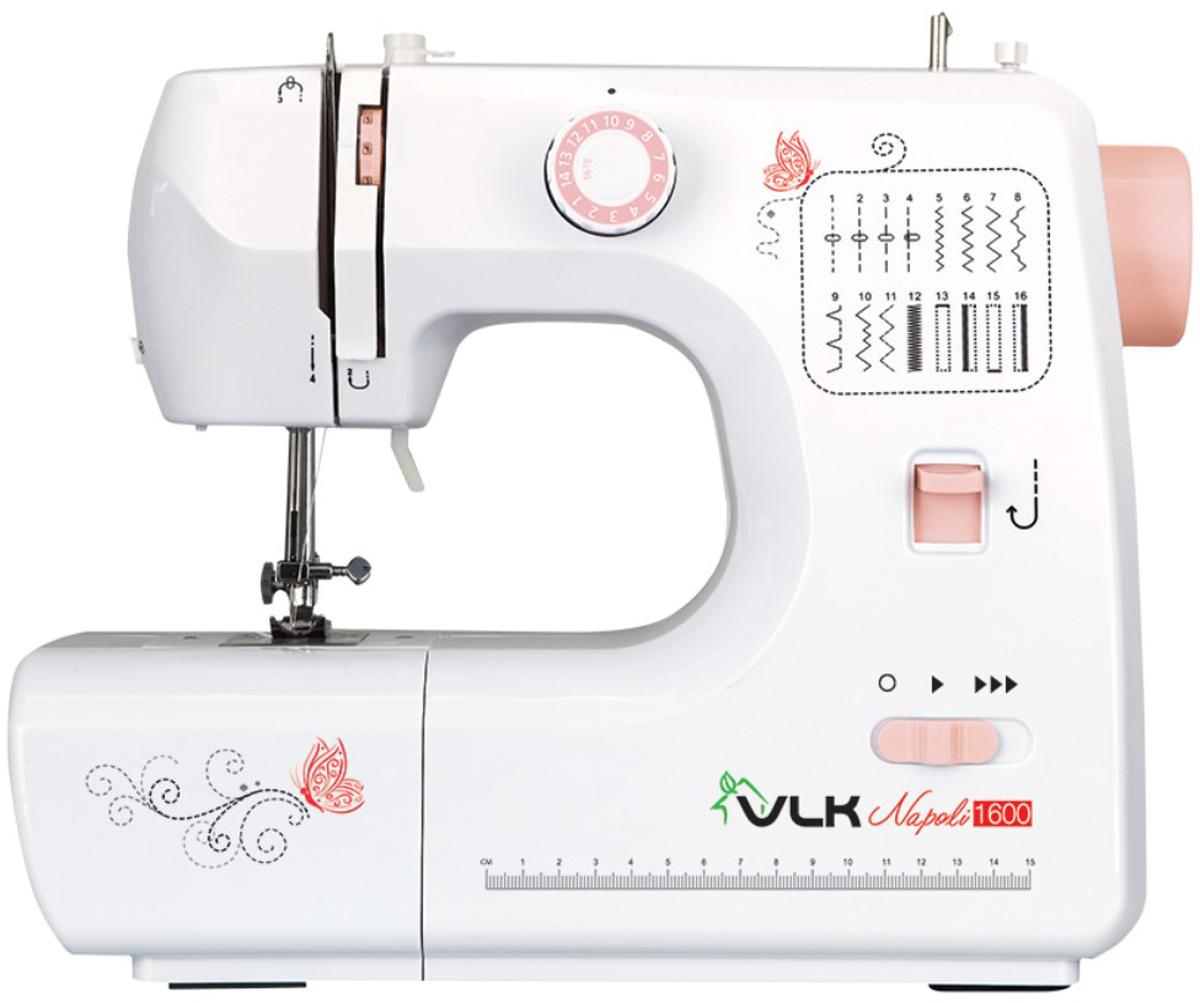 VLK Napoli 1600 швейная машина швейная машина vlk napoli 2800 белый