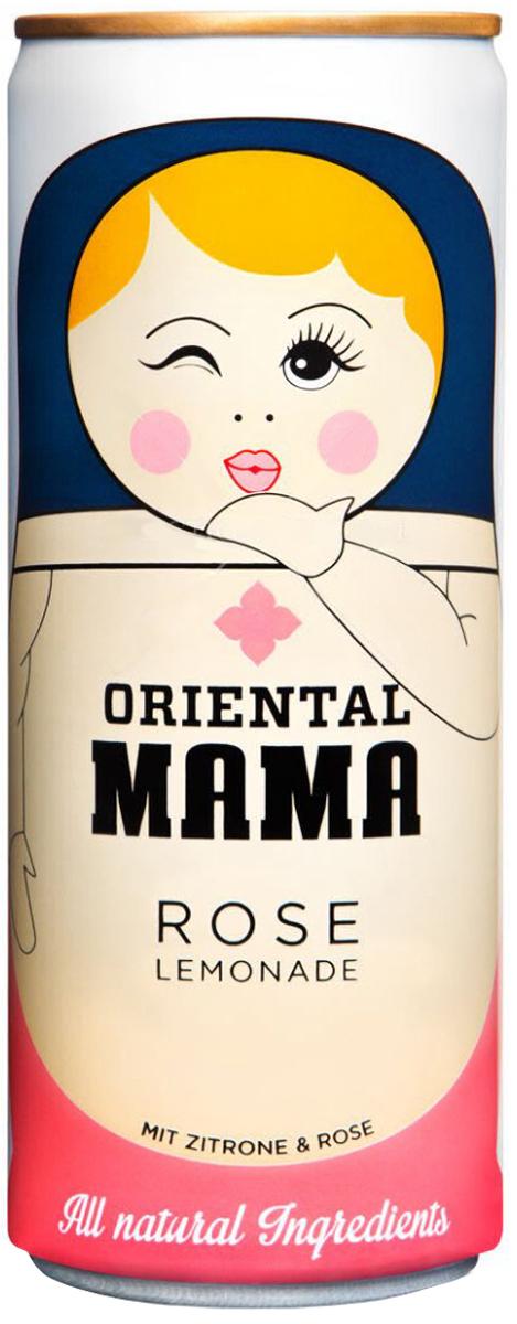 Oriental Mama натуральный безалкогольный газированный напиток лимонад на основе лайма и розы, 250 мл4260370660075Orienatal Mama - это 100% натуральный лимонад на основе сока лайма с приятной ноткой розы. Интересный дизайн, исполненный в русской стилистике, делает его привлекательным в качестве необычного и оригинального подарка себе, друзьям и близким. Попробуй и оцени!!!