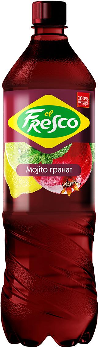 Elfresco Лимонад Мохито Гранатовый, 1,25 л elfresco лимонад мохито классический 500 мл