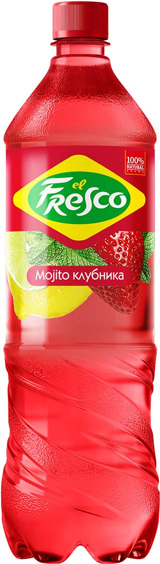 Elfresco Лимонад Мохито Клубничный, 1,25 л elfresco лимонад мохито классический 500 мл