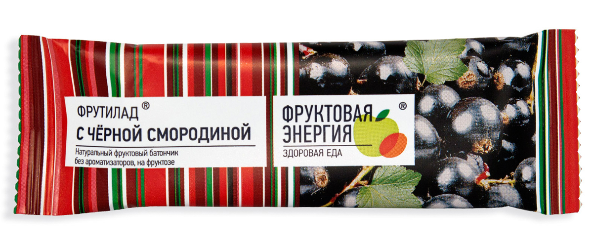 Фрутилад Батончик фруктовый Фрутилад черная смородина, 30 г фрутилад батончик фруктовый фрутилад чернослив в шоколаде 40 г