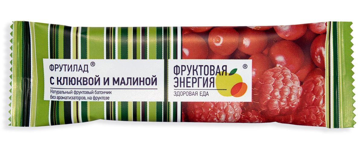 Фрутилад Батончик фруктовый Фрутилад клюква-малина, 30 г