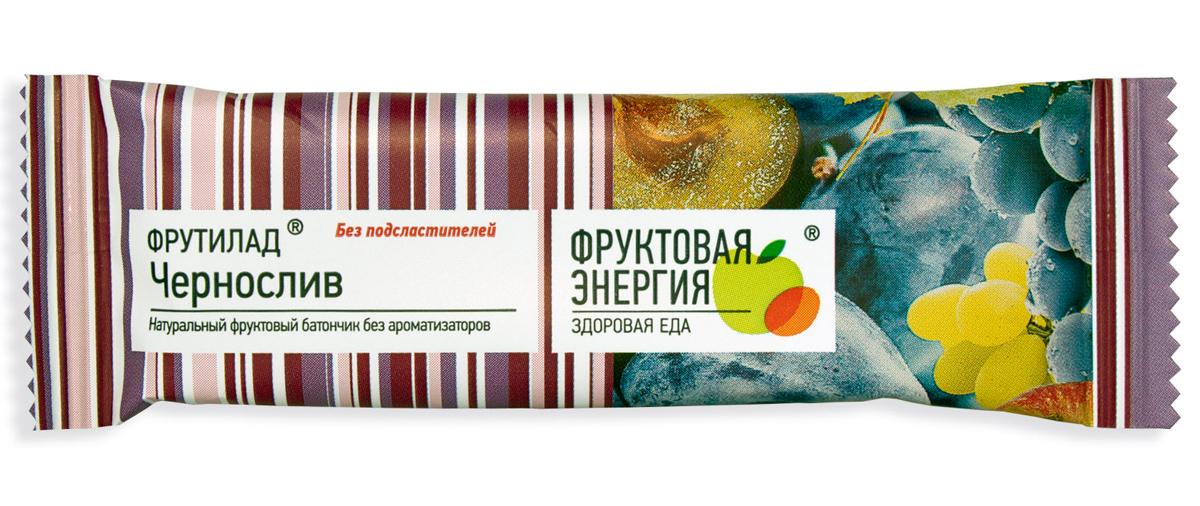 Фрутилад Батончик фруктовый Фрутилад чернослив, 30 г