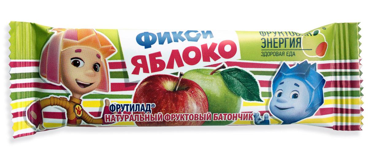 Фрутилад Батончик фруктовый фикси яблоко, 30 г фрутилад батончик фруктовый фрутилад чернослив в шоколаде 40 г
